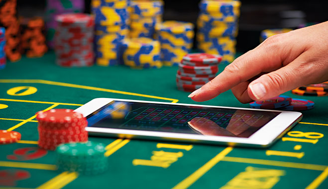 Play latest casino games and earn points